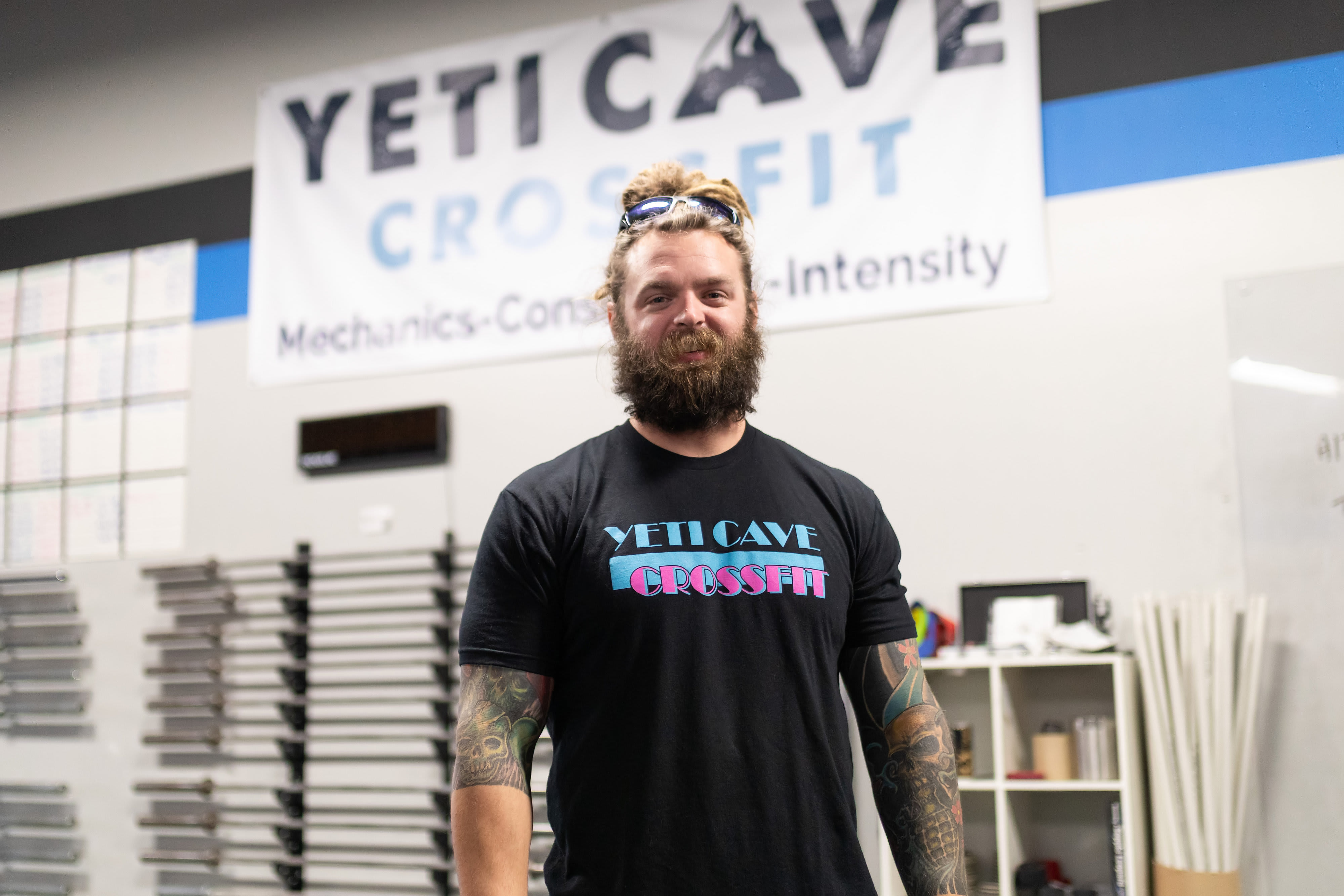 Josh Page in Fort Collins - Yeti Cave CrossFit