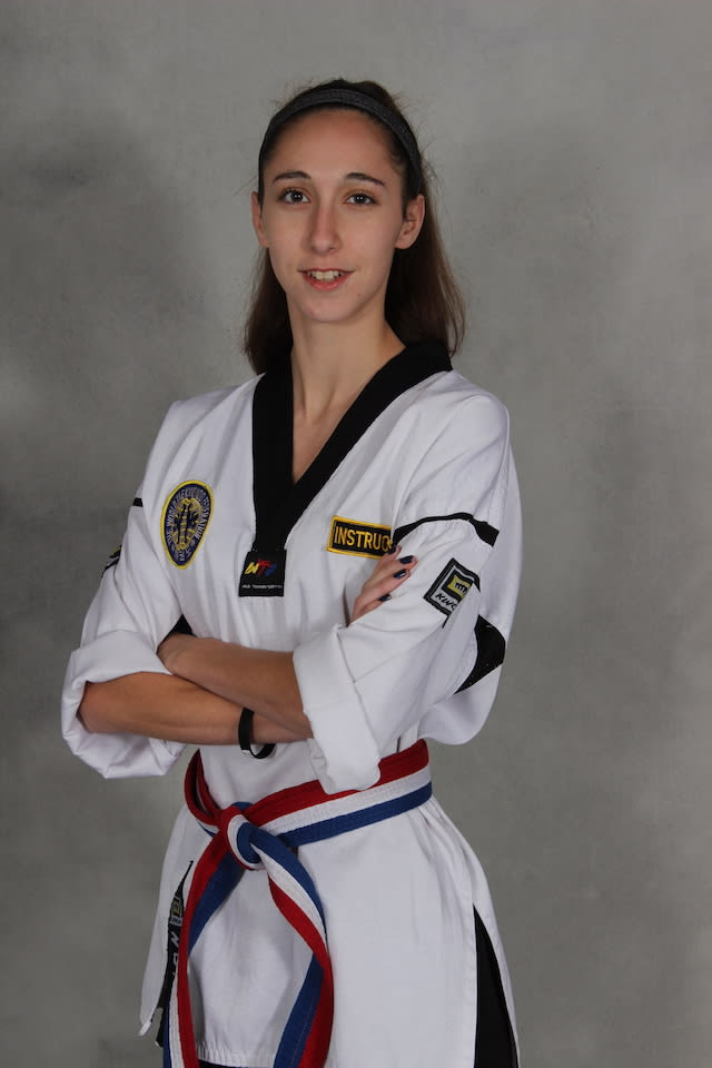 Julia Giard in Marlborough - New England Martial Arts Athletic Center