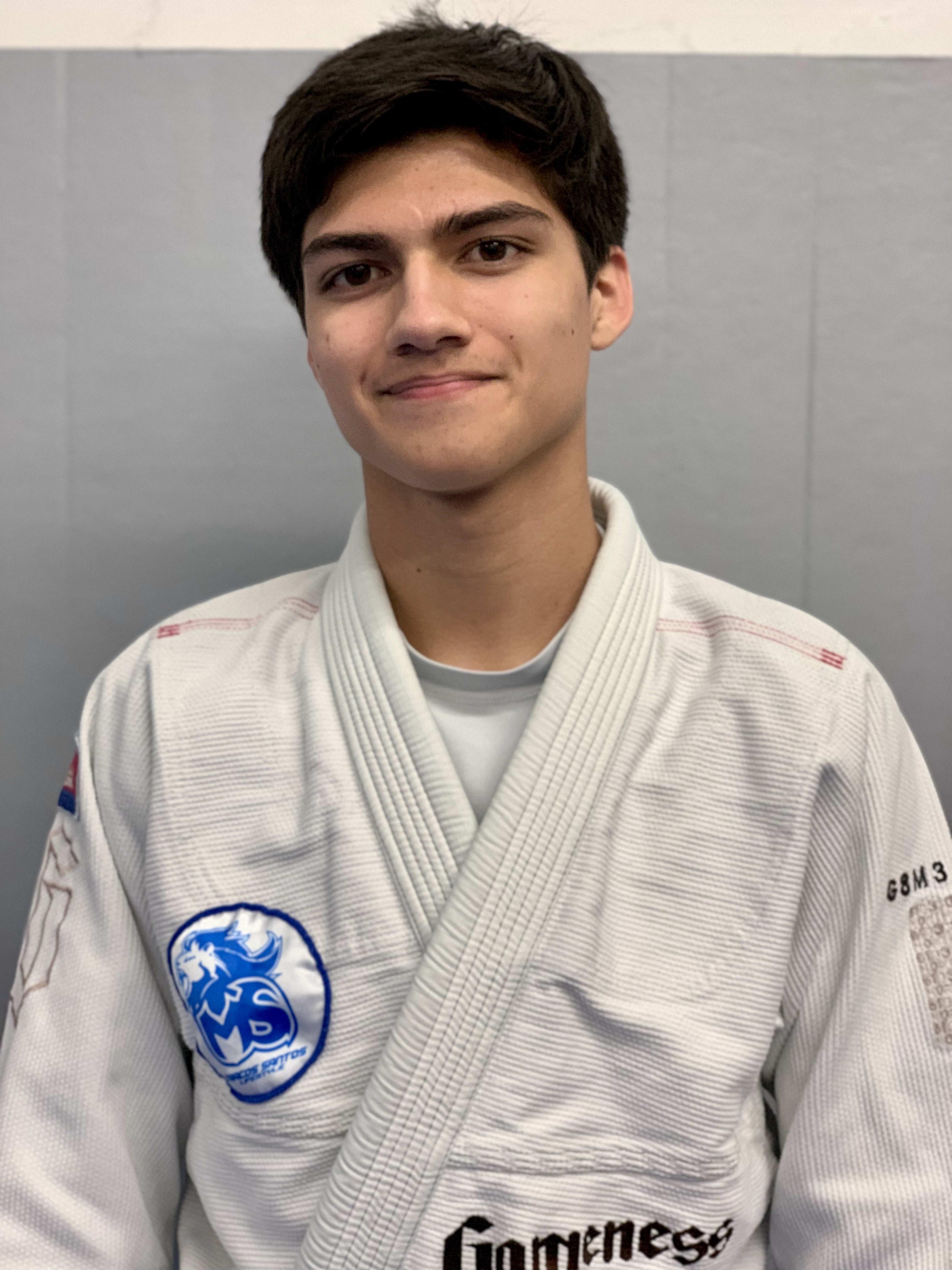 Justin Scott in Fort Worth - Marcos Santos Academy