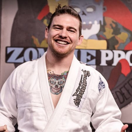 Kent Peters in Sydney - ZombieProof Brazilian Jiu Jitsu & Mixed Martial Arts