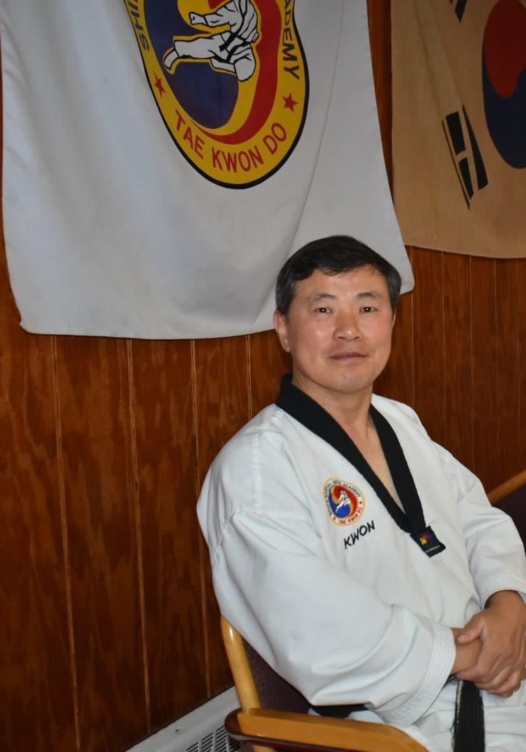 Keoun Ho Shim in Elizabeth - Shim's Martial Arts Academy