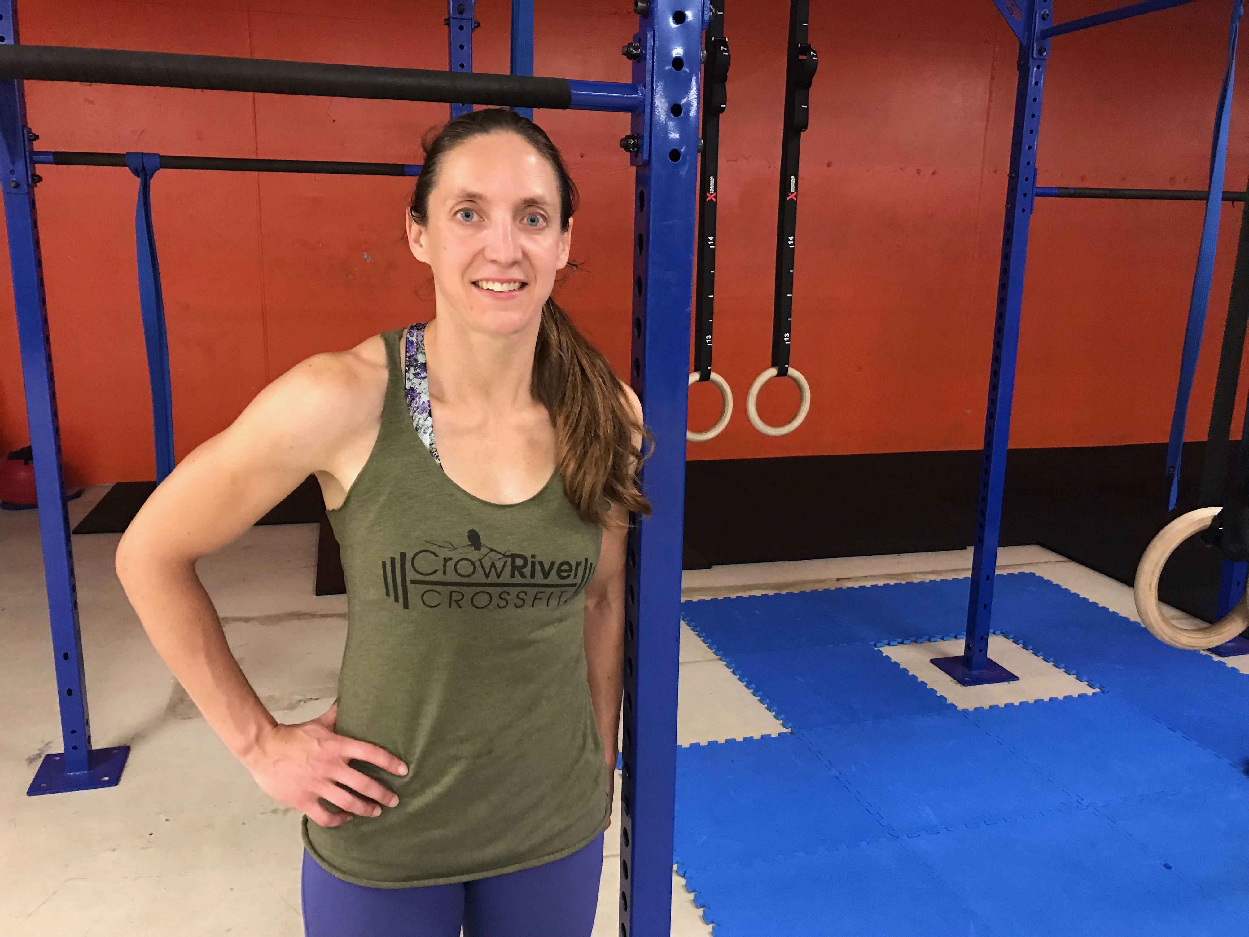 Lindsey Johnson in Delano - Crow River CrossFit