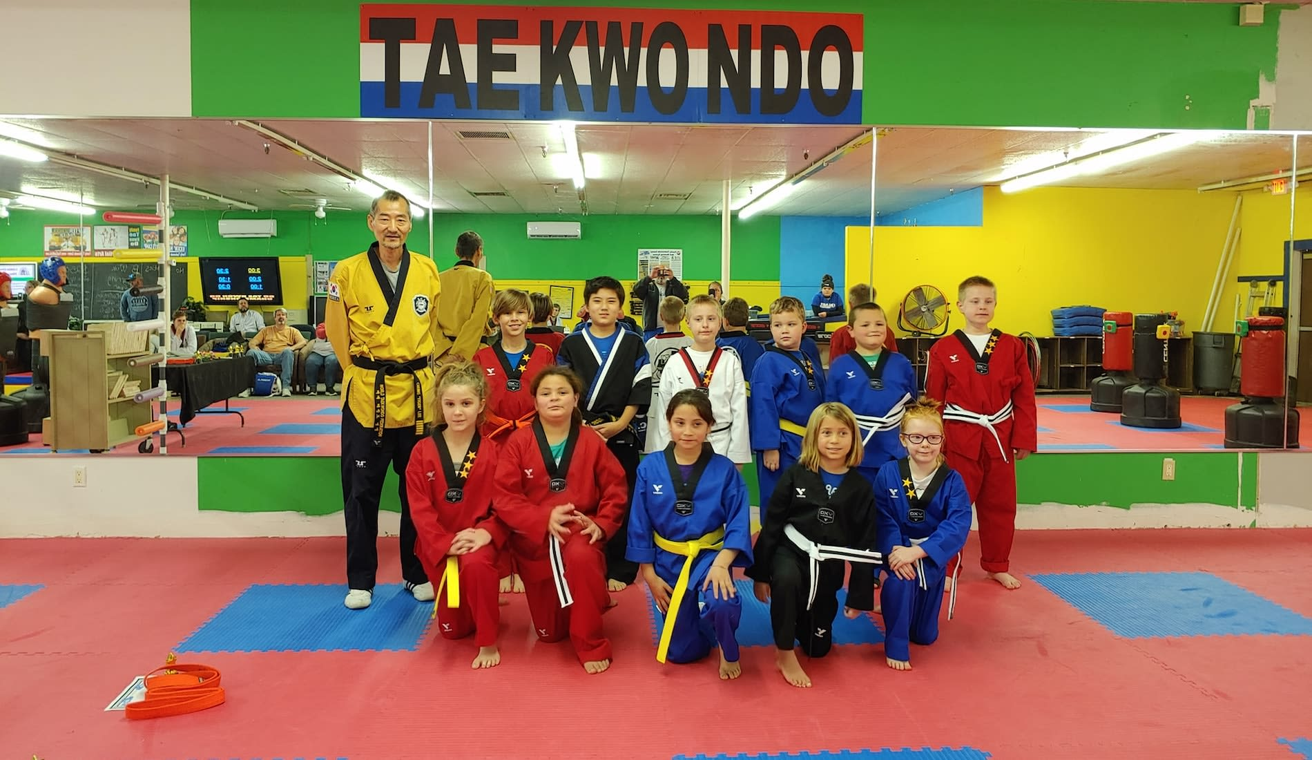 Marble Falls and Lampasas' First Choice For Taekwondo