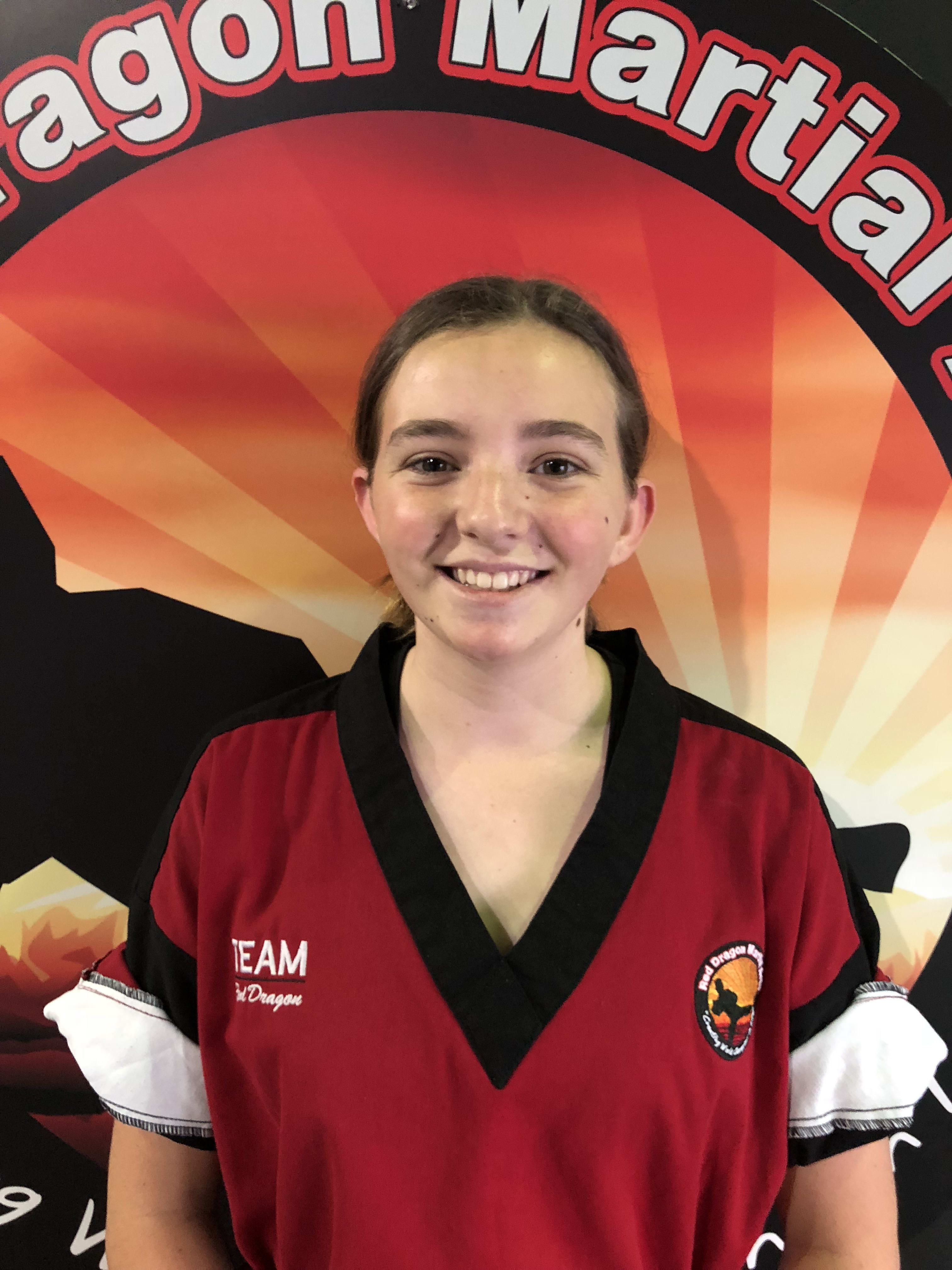 Lucy Turnbull in Caboolture - Red Dragon Martial Arts