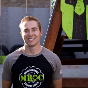 Luke Holzschuh in Oceanside - MROC Training