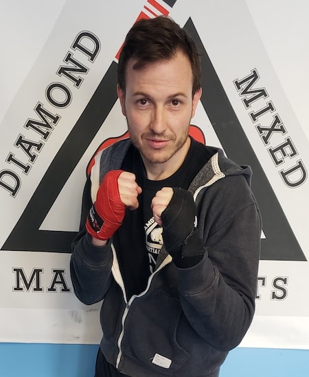 MATTHEW UNDERWOOD in Philadelphia - Commando Krav Maga and Diamond Mixed Martial Arts