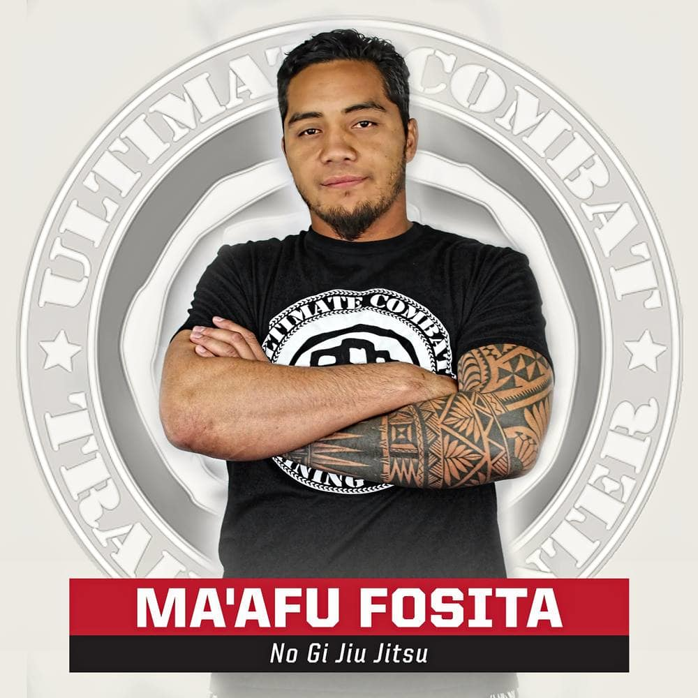 Ma'afu Fosita in Salt Lake City - Ultimate Combat Training Center