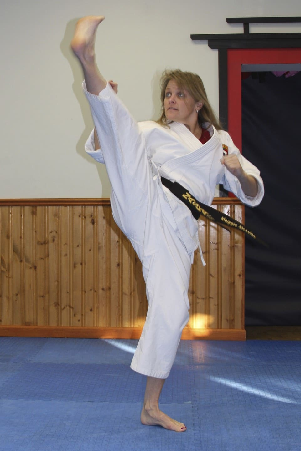 Master Maggie Messina in Albertson - Taecole Tae Kwon Do & Fitness