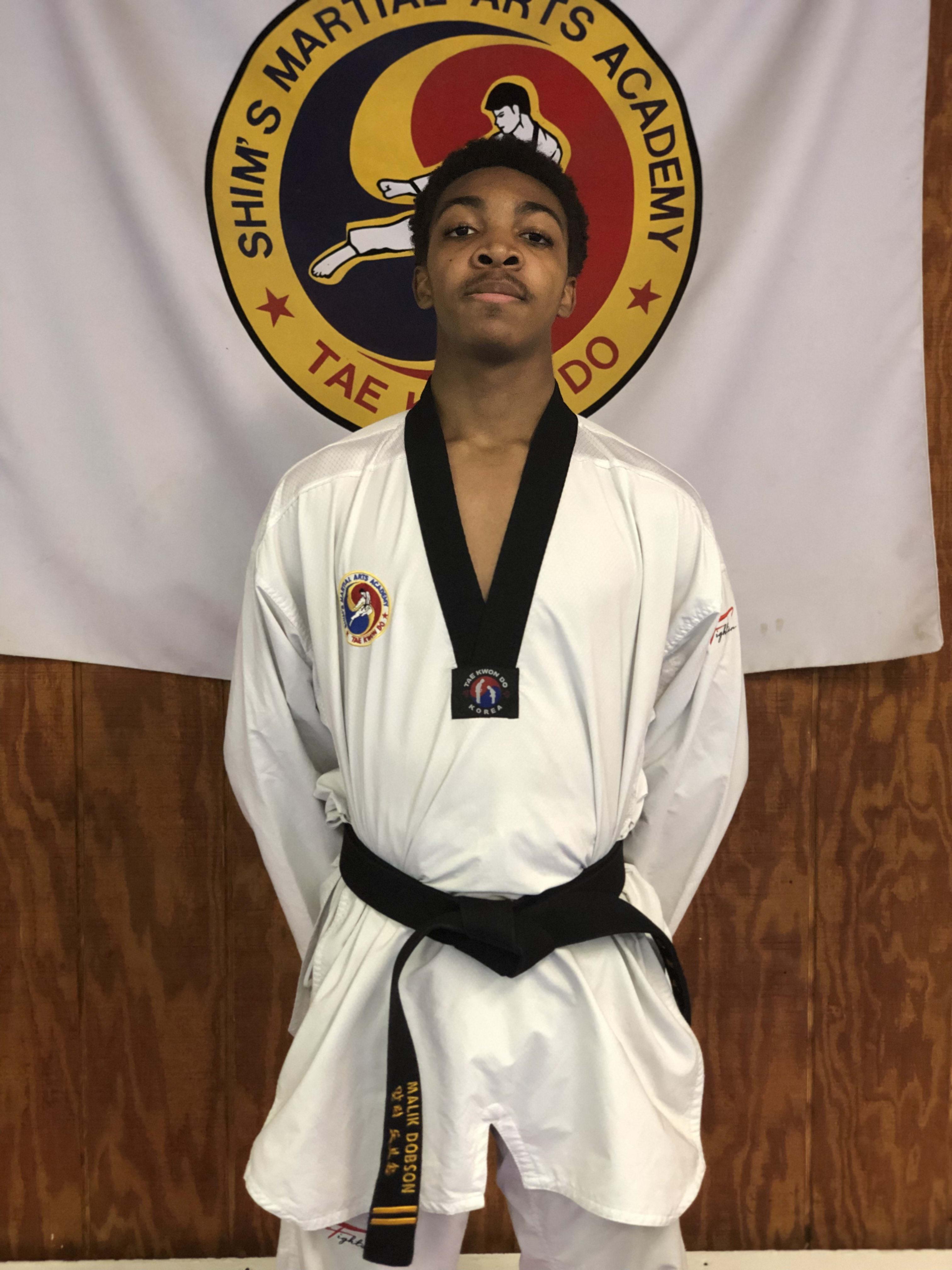 Malik Dobson in Elizabeth - Shim's Martial Arts Academy