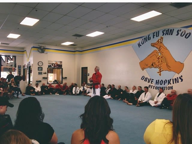 Master Dave Hopkins in Riverside - Dave Hopkins Kung Fu San Soo