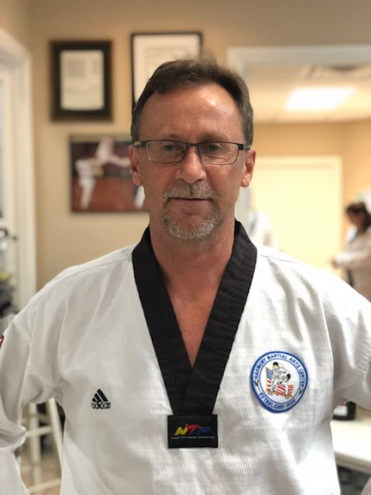 Master John Cagni in Jupiter - Harmony Martial Arts Center