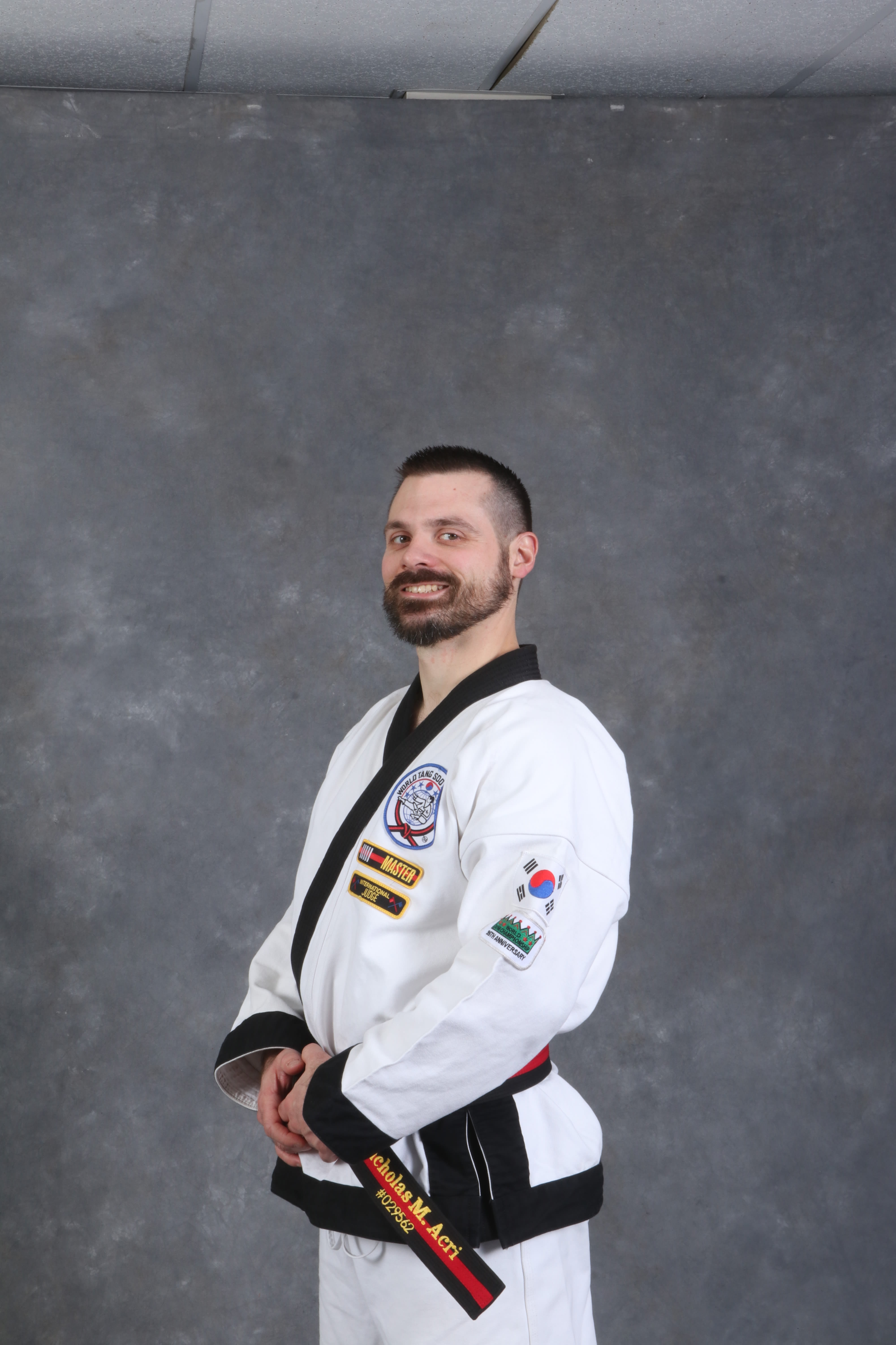 Master Nicholas Acri in Kingston - Jae Nam Training Academy