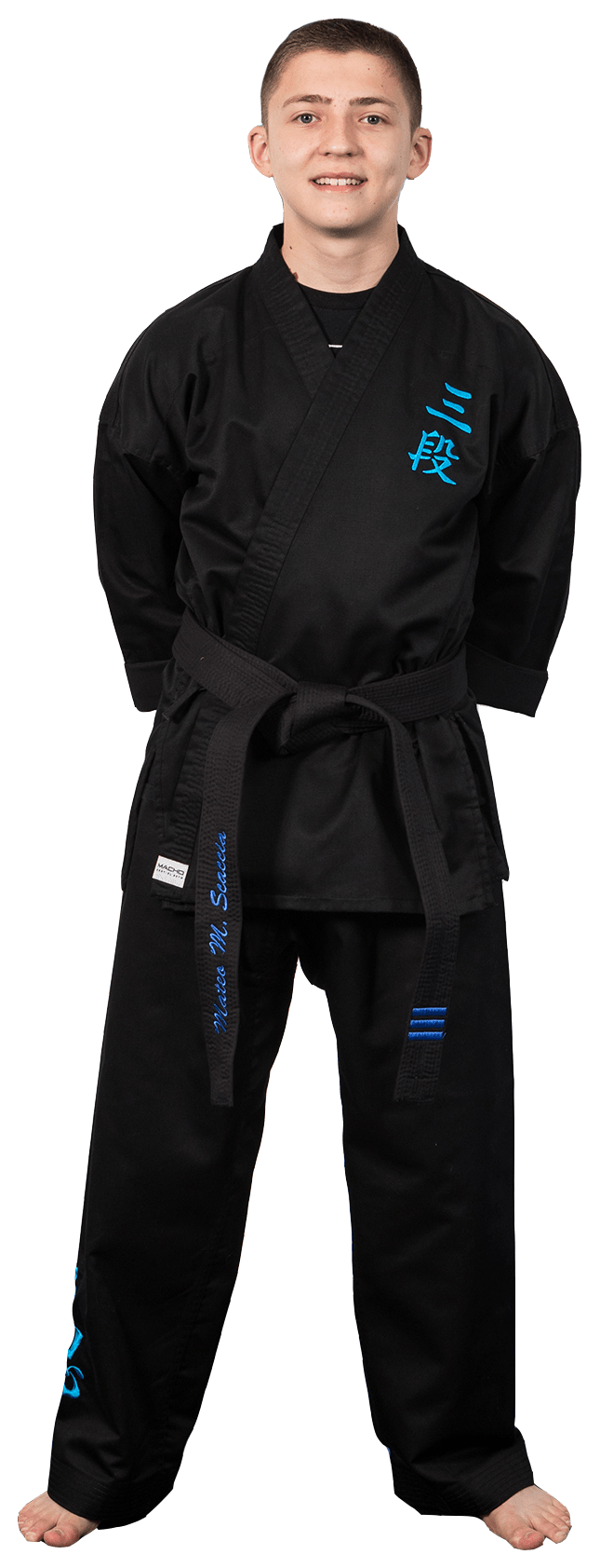 Mateo Scaccia in Coconut Creek - Team Creek Martial Arts