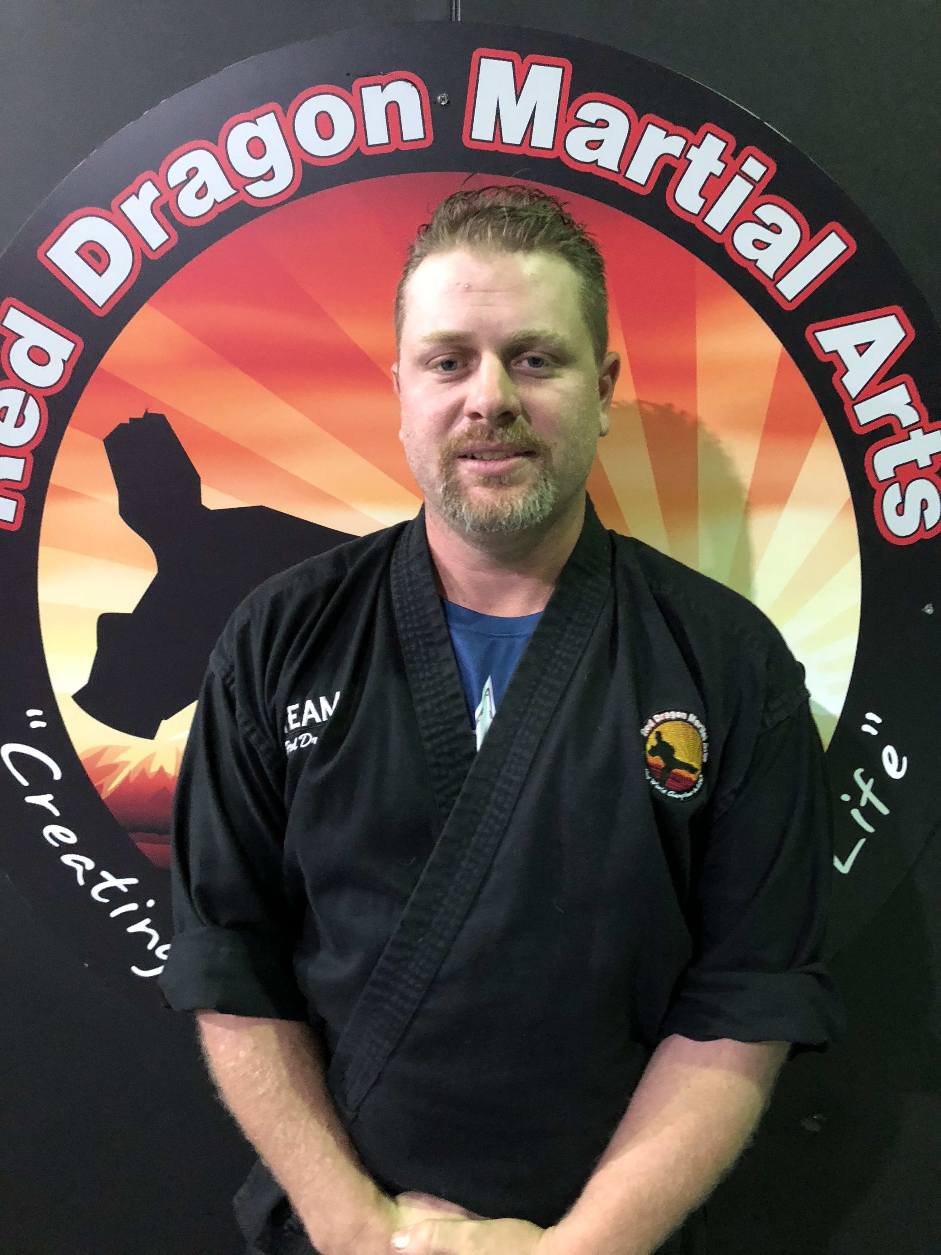 Michael Daniels in Caboolture - Red Dragon Martial Arts