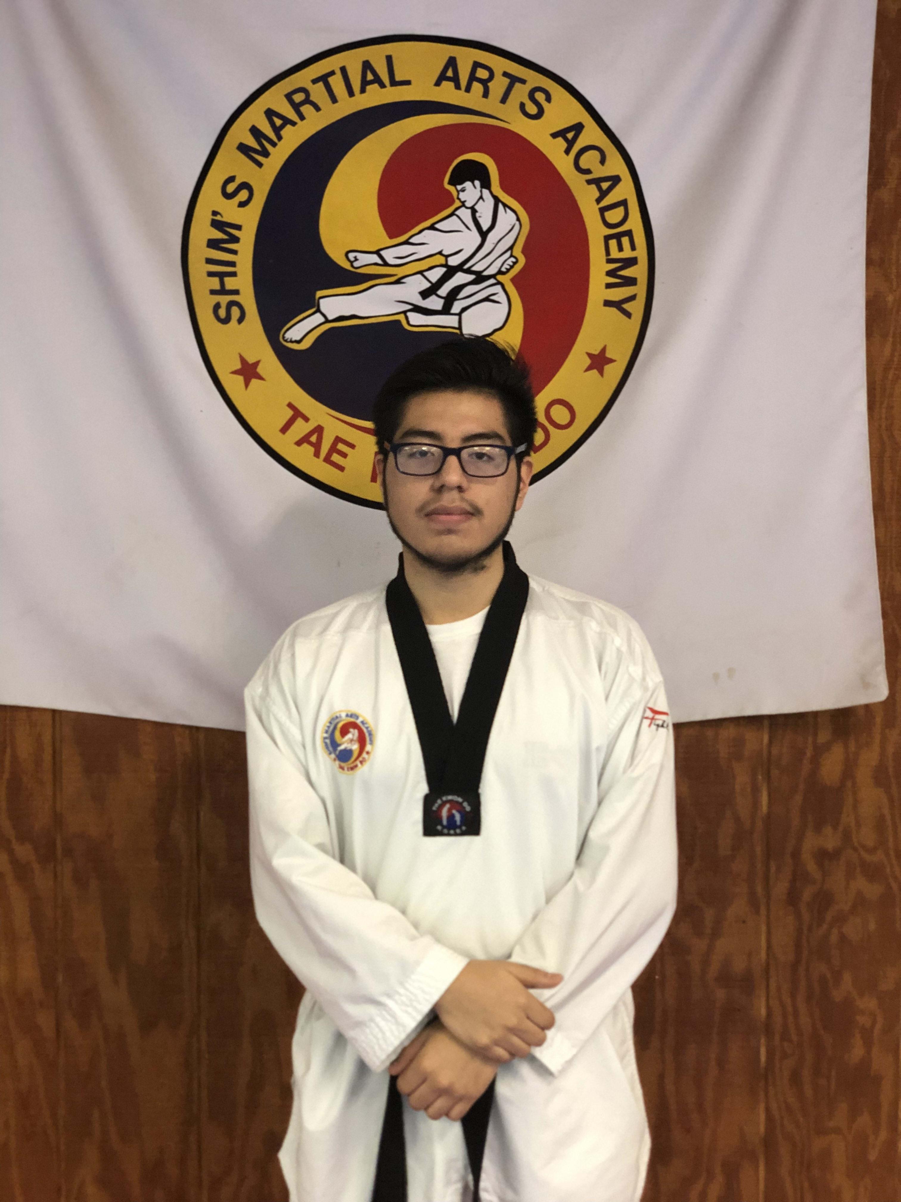 Michael Malla in Elizabeth - Shim's Martial Arts Academy