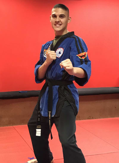 Sensei Mitchell Shackelford in Clearwater - TOP Martial Arts