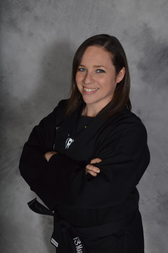 Mrs. Jaimie Werner in Knoxville - P3 Martial Arts