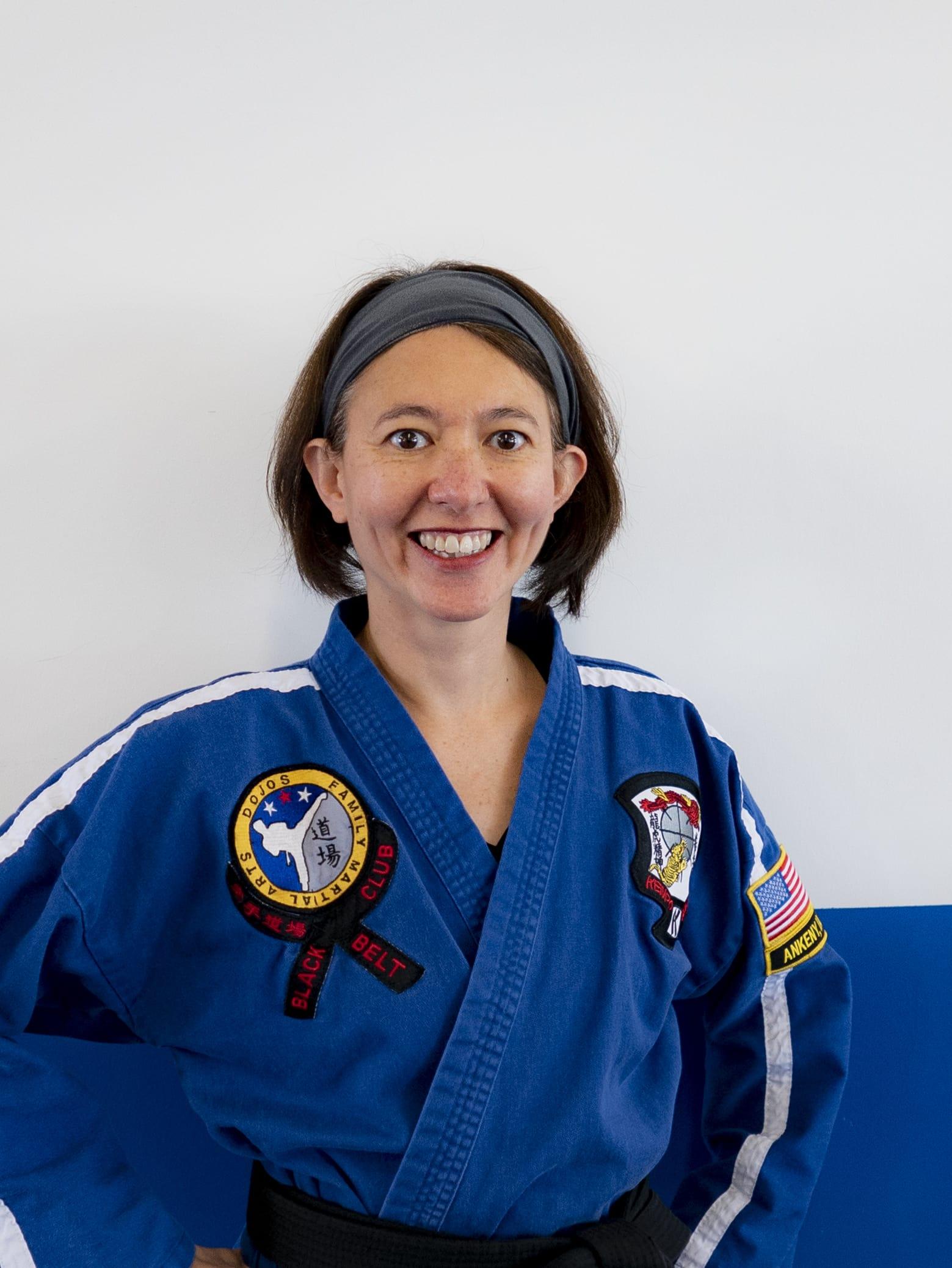 Mrs. Ross in Ankeny and Johnston - Dojos Family Martial Arts