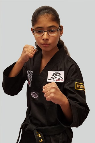 Natalie Berganza in North Attleboro - Mu Han Total Martial Arts