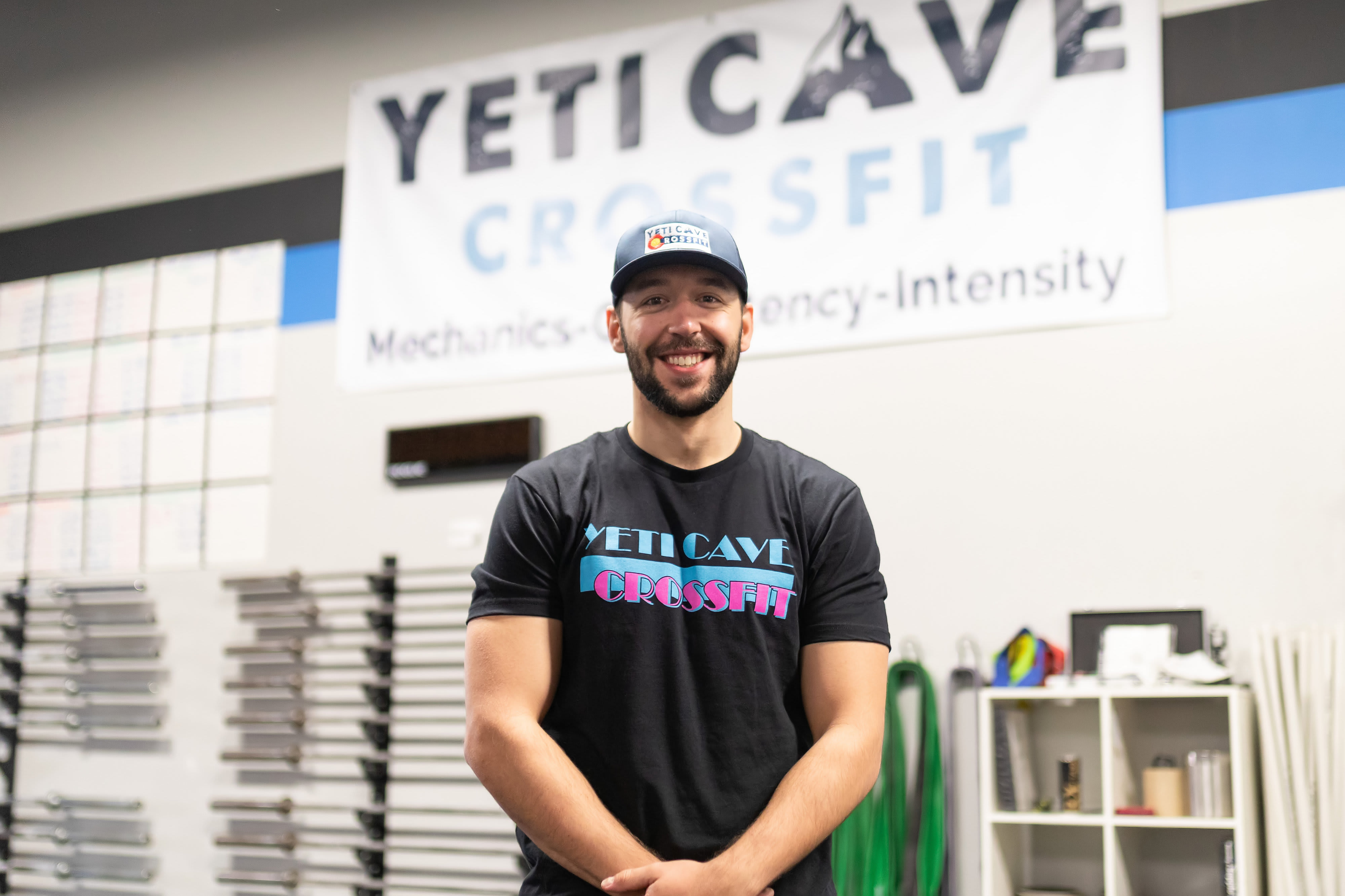 Nate Landsgaard in Fort Collins - Yeti Cave CrossFit