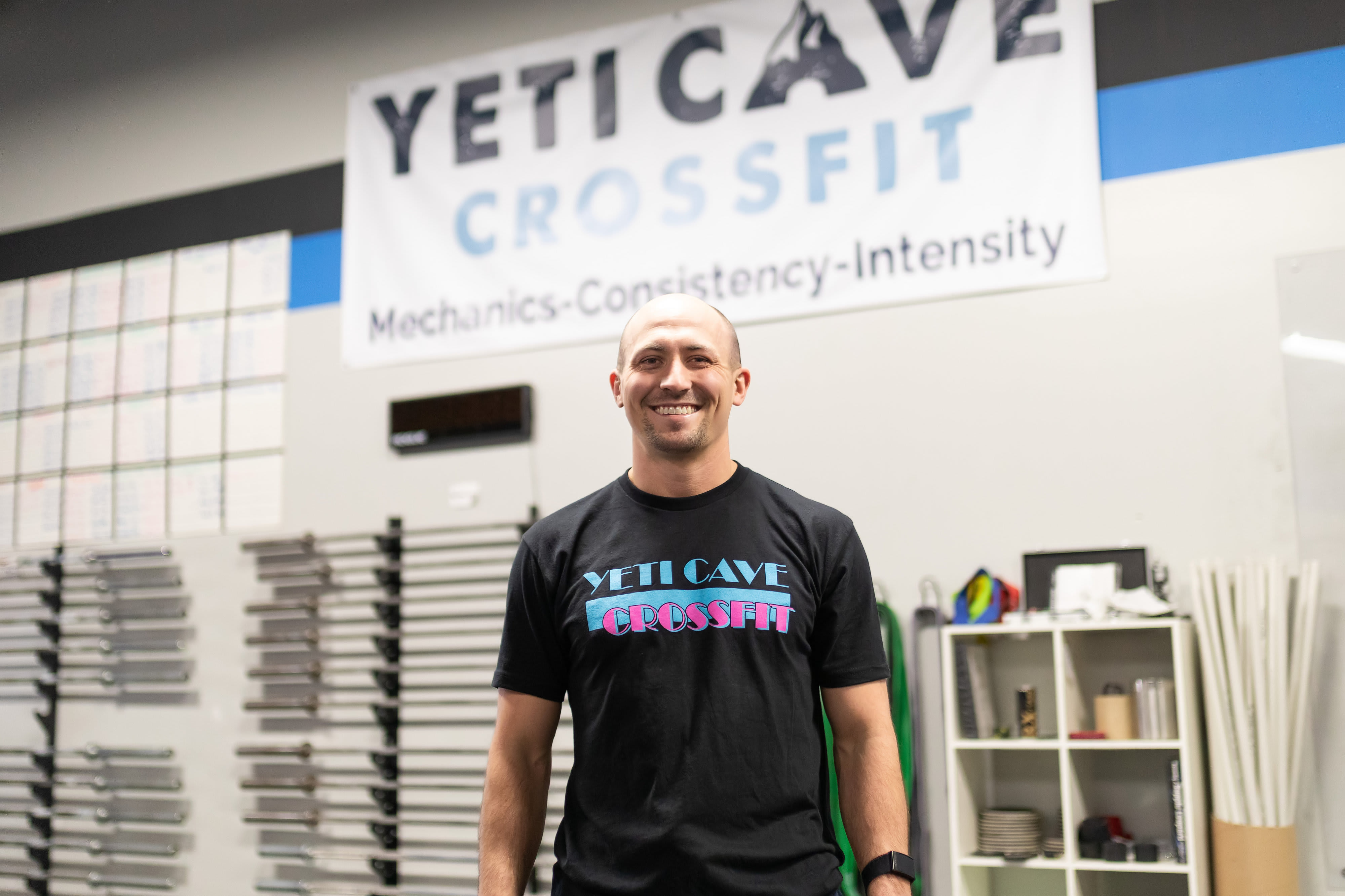 Nate Seitz  in Fort Collins - Yeti Cave CrossFit