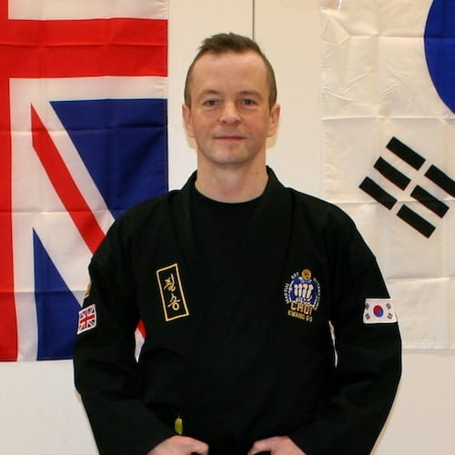 Mr. Niki Clarke in Teddington - Clarke School of Choi Kwang Do