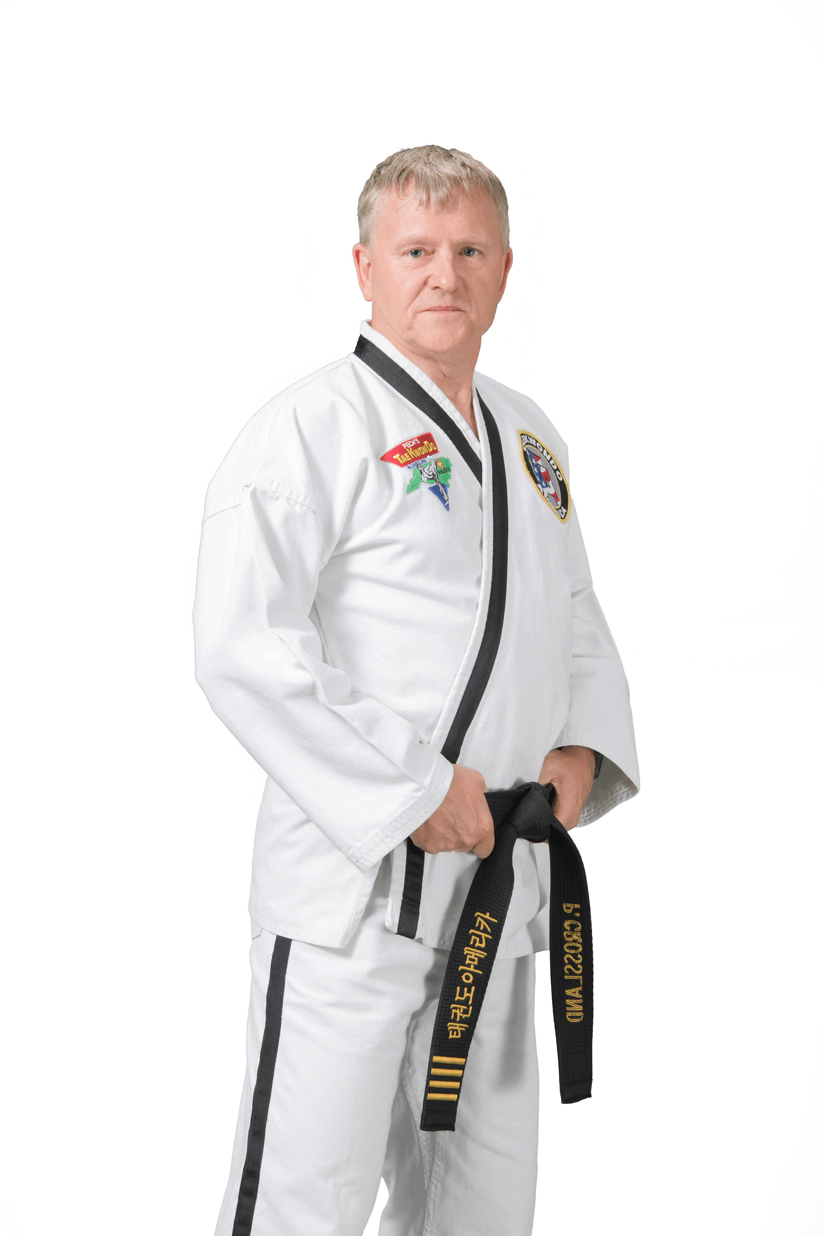 Paul Crossland in Raleigh - Peck's Taekwondo America
