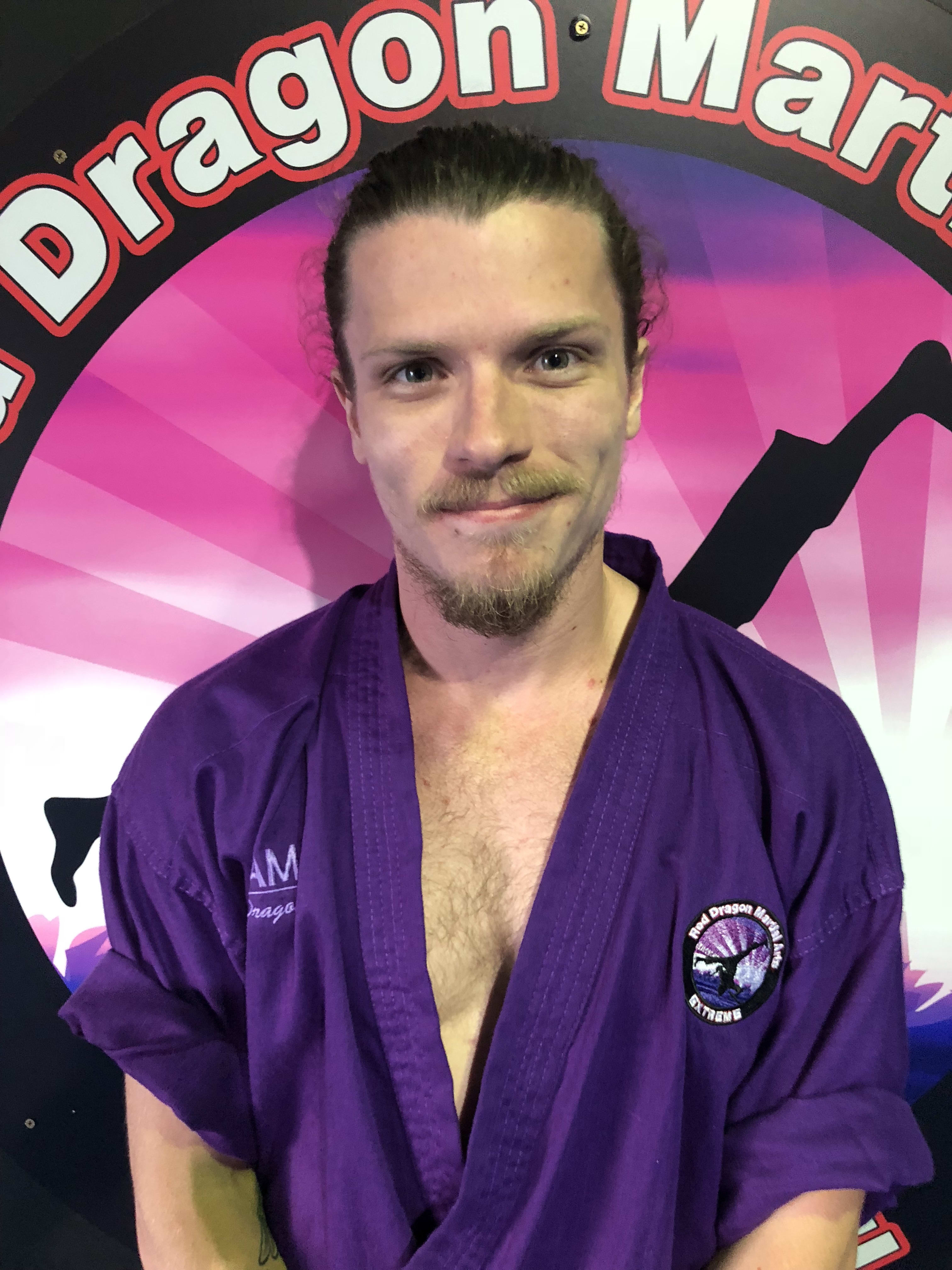 Phill Gibbs in Caboolture - Red Dragon Martial Arts