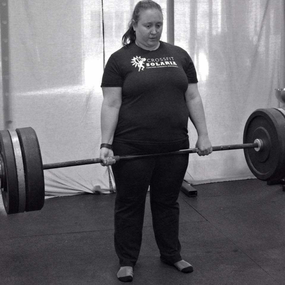 Regina Petersen in Omaha - CrossFit Solaria