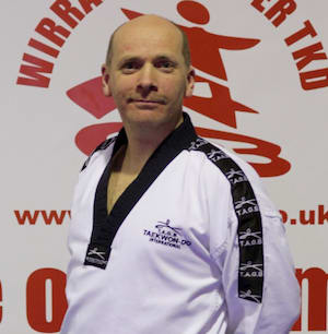 Master Richard Jones in Wirral - Wirral & Chester Taekwondo