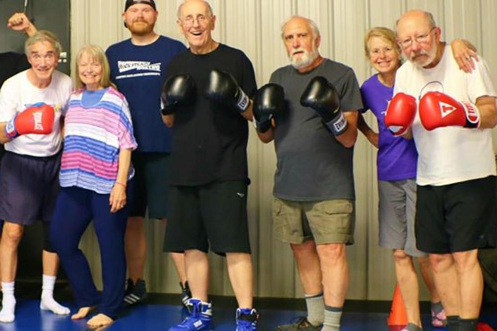 Boxing near Asheville