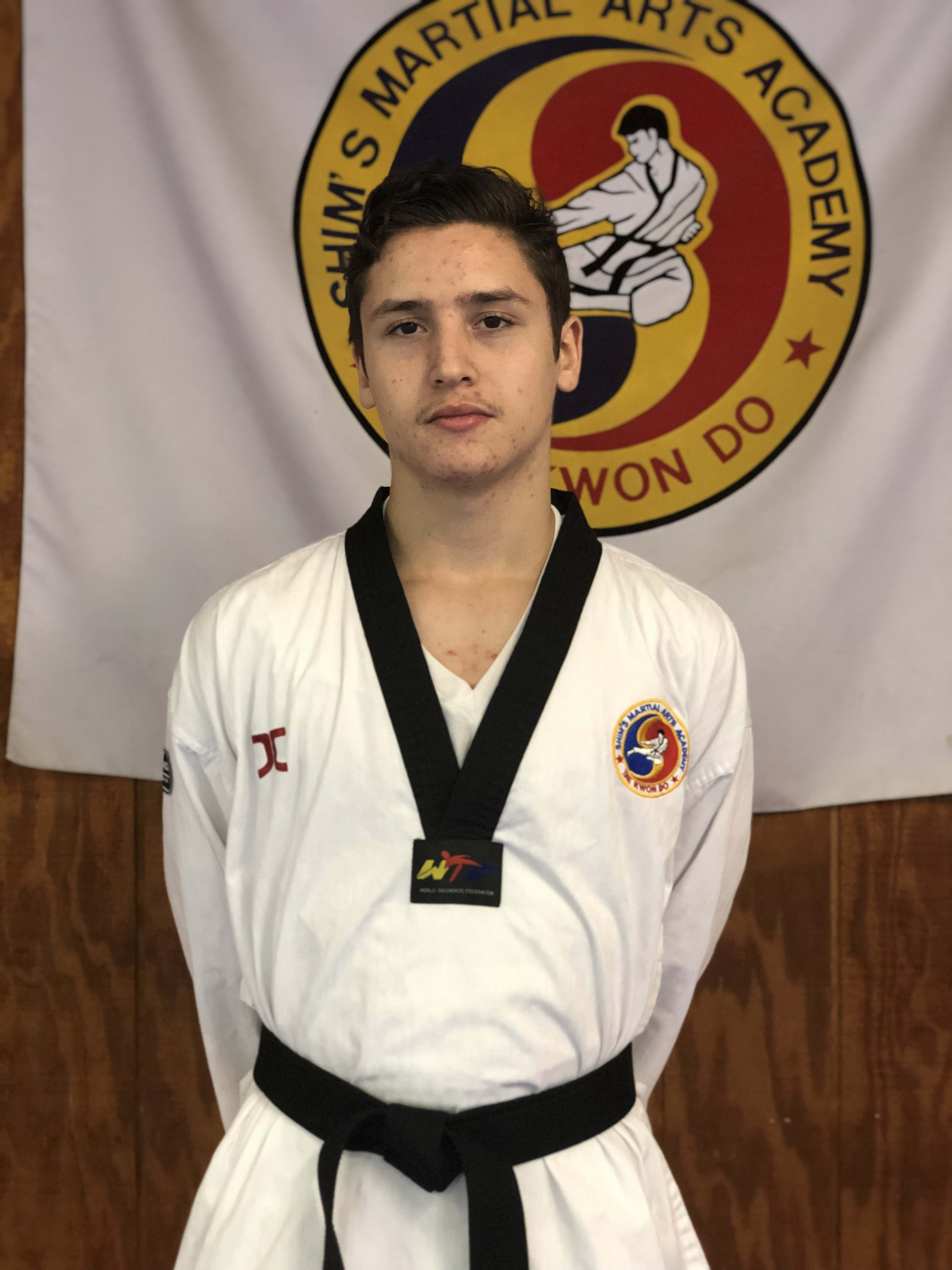 Sebastian Castano in Elizabeth - Shim's Martial Arts Academy