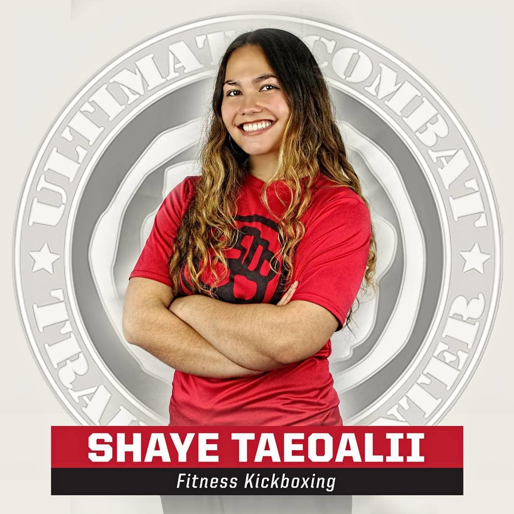 Shaye Taeoalii in Salt Lake City - Ultimate Combat Training Center