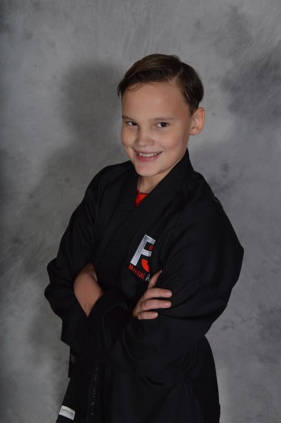 Skyler Fetty in Knoxville - P3 Martial Arts