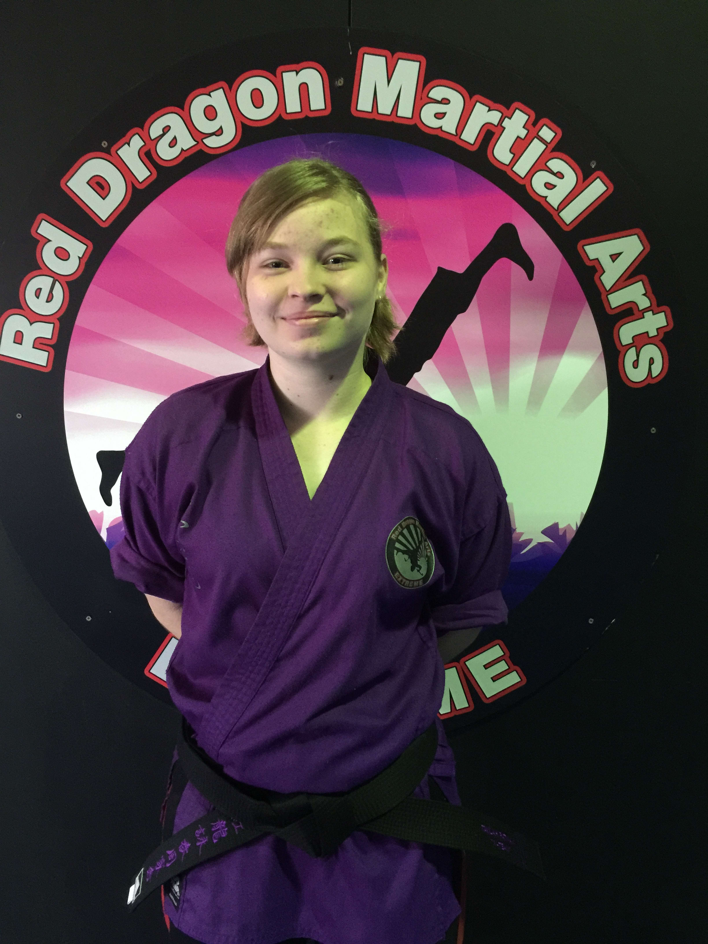 Taylah Patman in Caboolture - Red Dragon Martial Arts