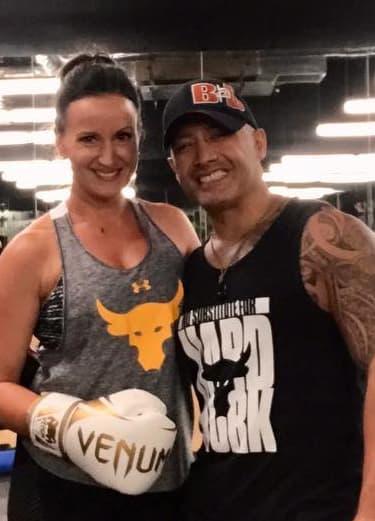 Tom and Leda Blas in Far North Dallas - Extreme Iron Pro Gym