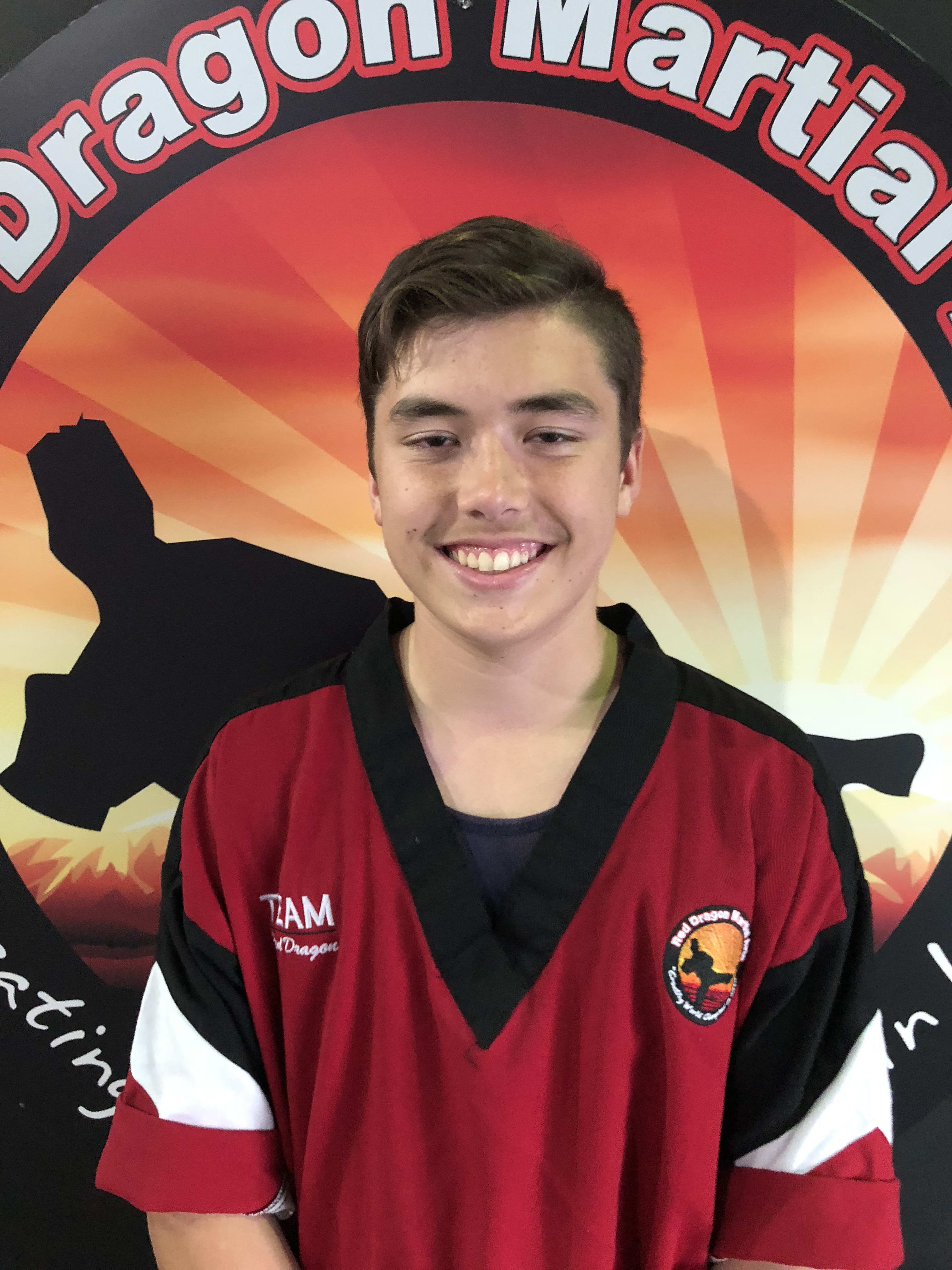 Tre' Wooldridge in Caboolture - Red Dragon Martial Arts