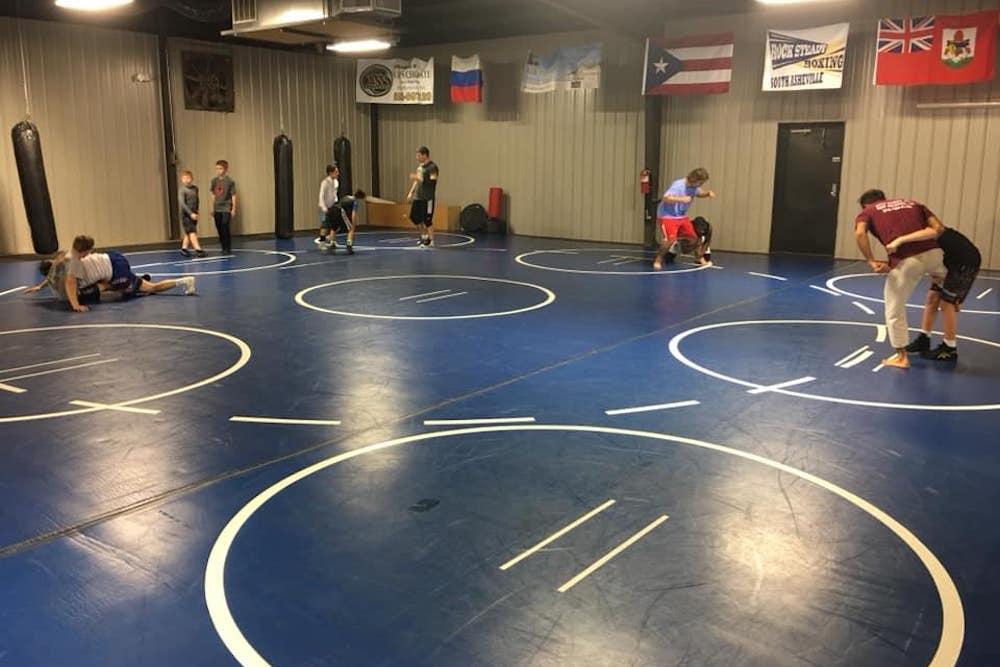 Wrestling near Asheville