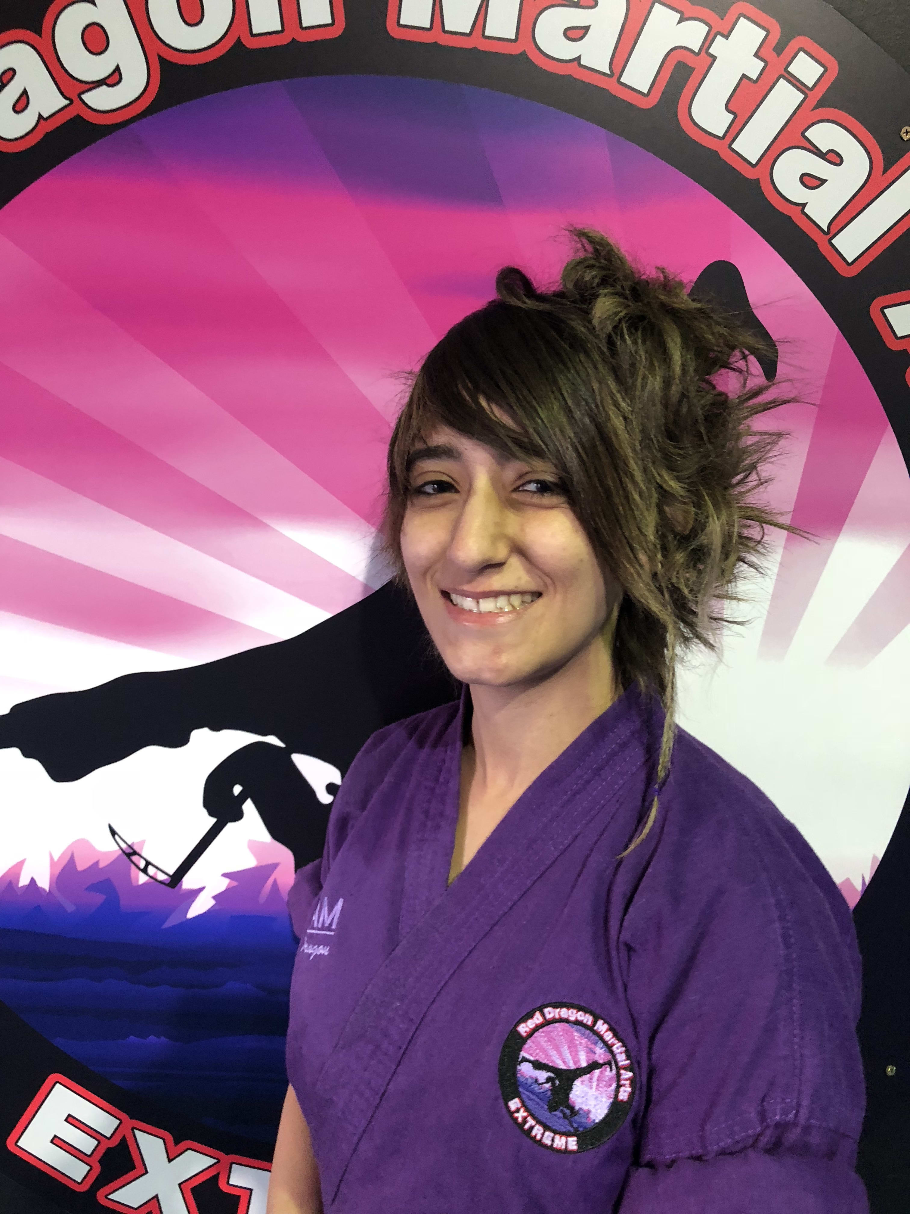Yasmine Albassit in Caboolture - Red Dragon Martial Arts