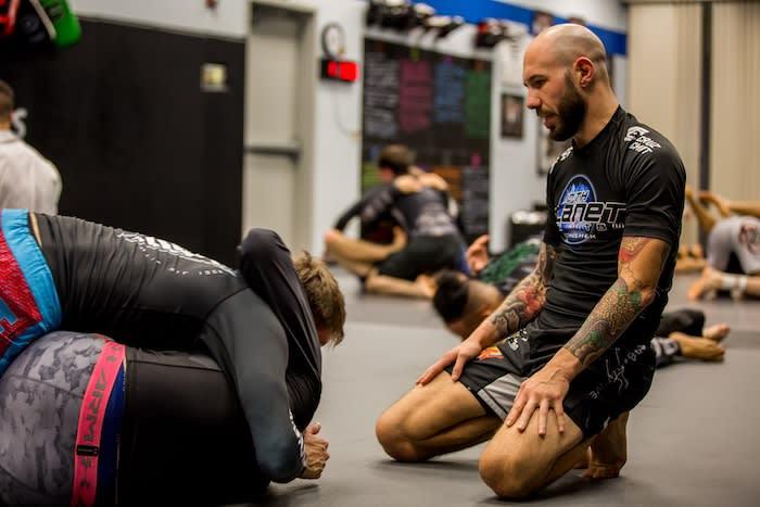 Zachary Maslany in Lehigh Valley - Finishers MMA - 10th Planet Jiu Jitsu