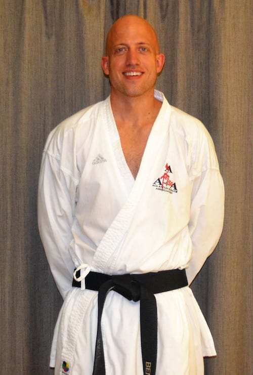 Ben Boulton  in Saffron Walden - All Anglia Karate Association