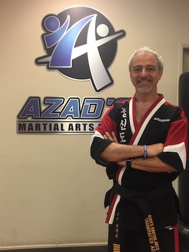 Grandmaster Azad in Chico - Azad's Martial Arts Center