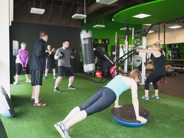 Semi Private Training in Inner Athlete Fitness Studio