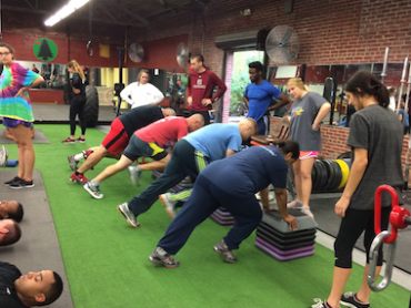 Group Fitness Training in K.O.R.E. Wellness