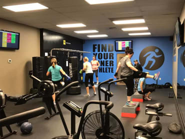 Group Personal Training in Inner Athlete Fitness Studio
