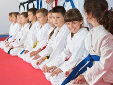 Kids Martial Arts  in The Dojo Of Karate