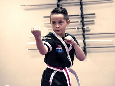 Kids Karate in USA Professional Karate Studio