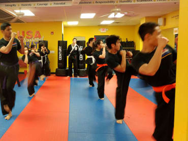 Adult Karate in USA Professional Karate Studio