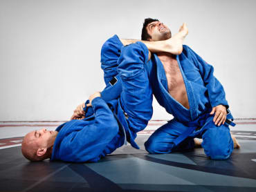 Brazilian Jiu Jitsu in Shackelford's MMA Center