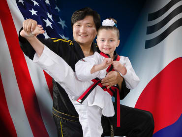 Kids Martial Arts  in Lee's Champion Taekwondo Academy